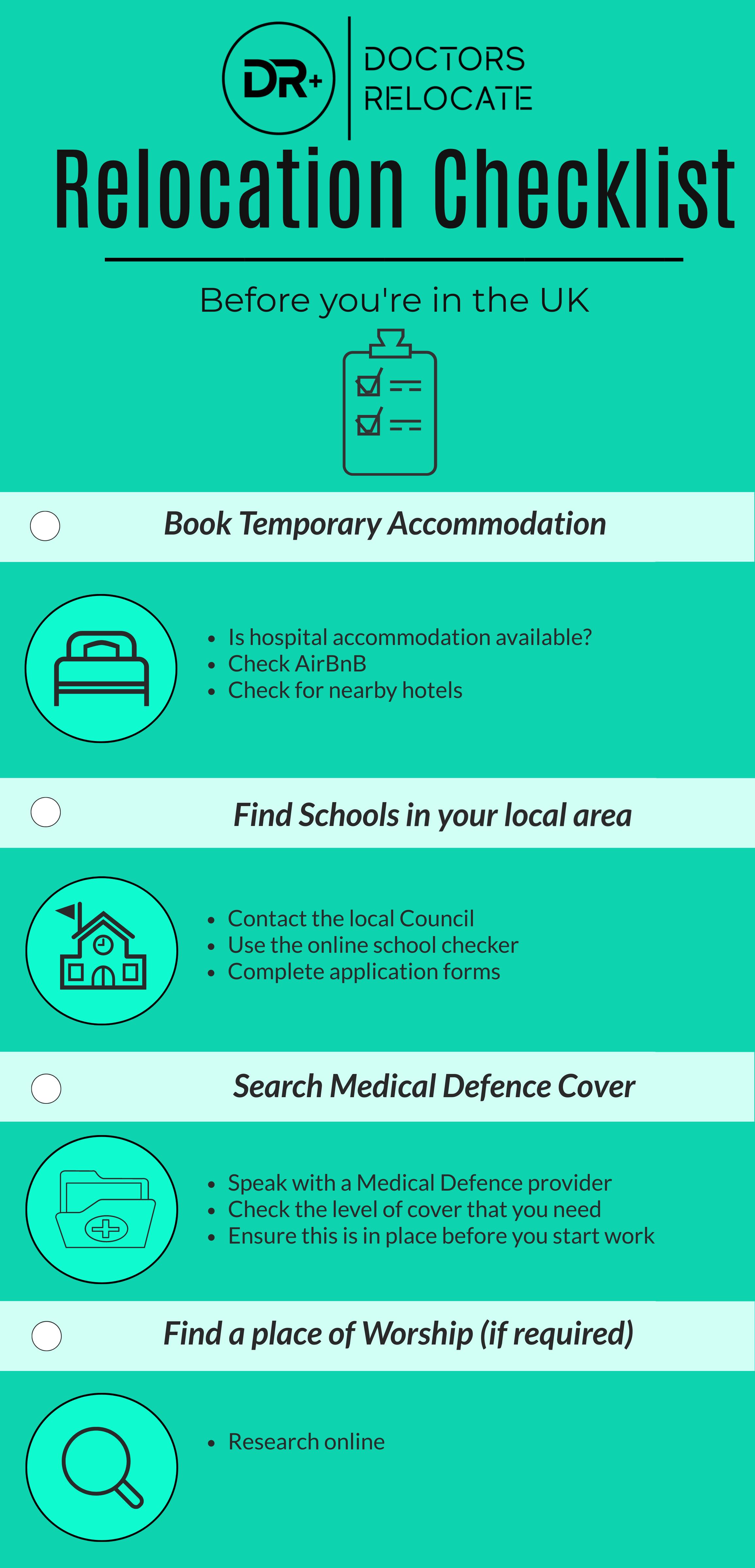 Relocation Guide for Doctors - Checklist 1