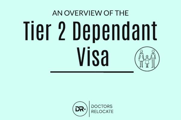 Tier 2 dependant Visa