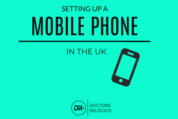 Setting up a Mobile Phone in the UK